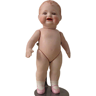 "All bisque Bonnie Babe - 5"", perfect bisque"