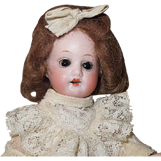 "Herm Steiner girl - 8"", perfect bisque, German, on consignment"