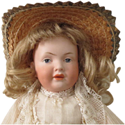 "Kley and Hahn 536 character girl - 11"", perfect bisque"