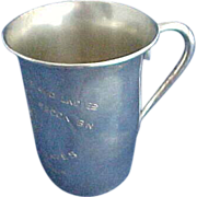 Austrian 800 Silver Presentation Cup
