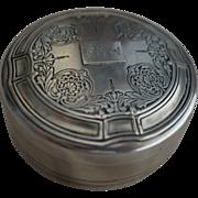 Large Tiffany Sterling silver Powder or Trinket Box