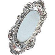Ornate Sterling silver Pin Dish