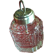 Ornate Sterling silver Glue Pot or Jar by Whiting
