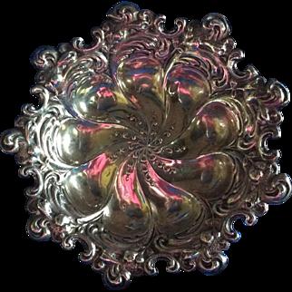Art Nouveau Sterling silver Bowl by George Shiebler