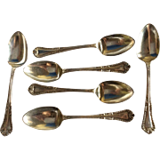 6 Old Dominion by Lunt Sterling silver Teaspoons