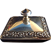 Ornate Sterling silver Paper Weight