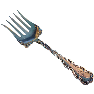 Louis XV by Whiting Sterling silver Sardine serving Fork