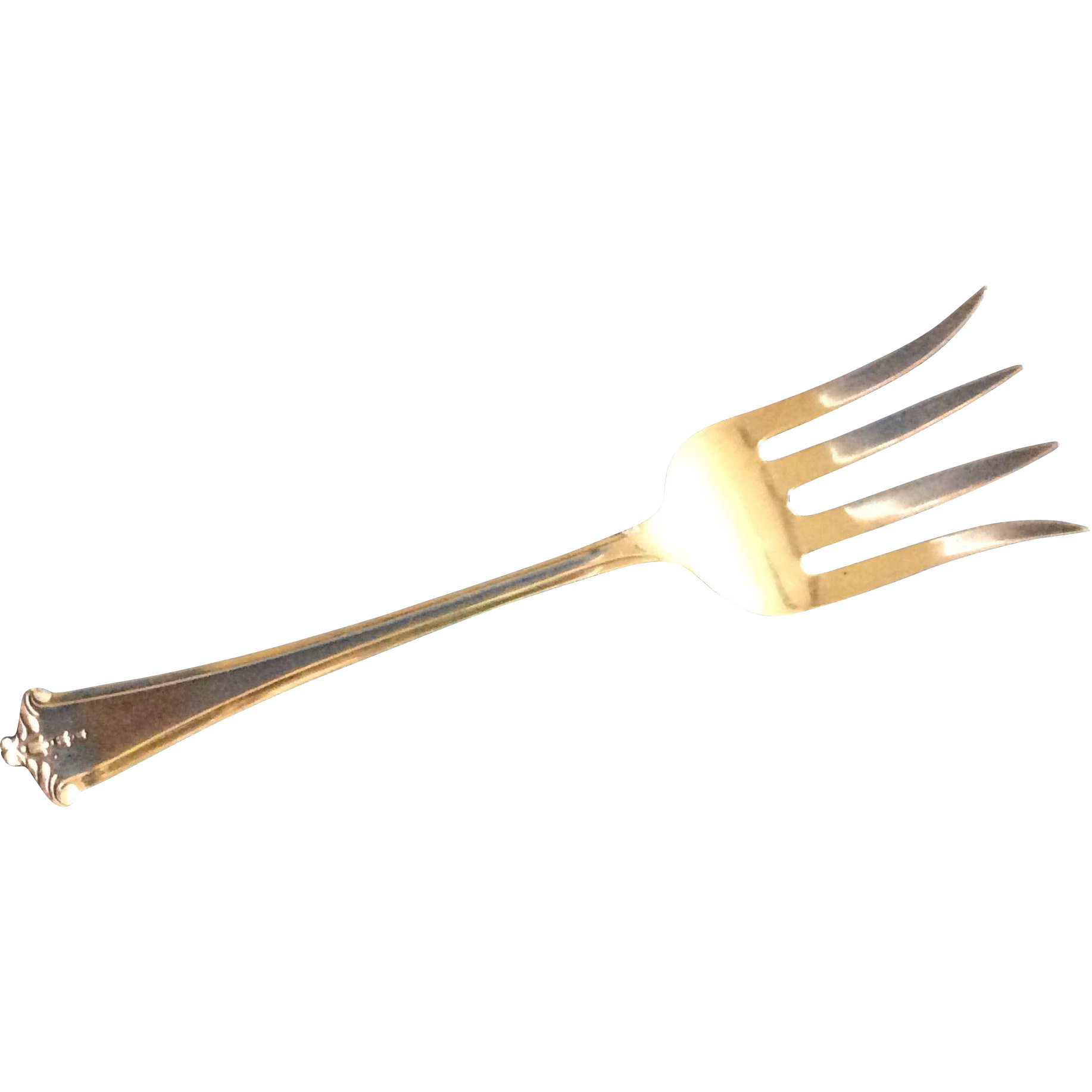Sterling silver Beef Serving Fork by Lunt