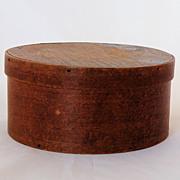 Primitive Pantry Box Treen Wood Folk Art Antique 19th Century