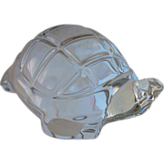 Baccarat Crystal Figurine Turtle Tortoise Animal