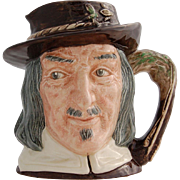 Vintage Royal Doulton Fishing Character Jug 300th Anniversary of The Compleat Angler