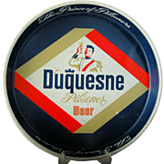 Vintage Advertising Beer Tin Duquesne Pilsener Beer Metal Serving Tray