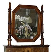 Antique 18C Italian Fruitwood Mirror