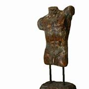 Unusual Male Nude Torso Sculpture