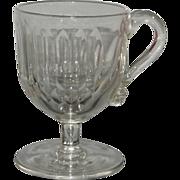 Antique 18C Georgian Glass Mug