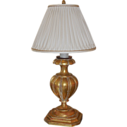 Carved Gilt-Wood Lamp by Dagmar Designs - West Hollywood