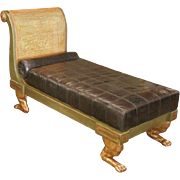 Superb Hendrix Allardyce Designer Chaise Lounge Thebes