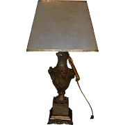 Fabulous Venetian Style Designer Table Lamp w Custom Shade