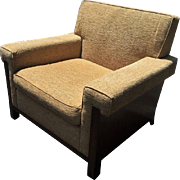 Exquisite Nancy Corzine Art Deco Designer Club Chair