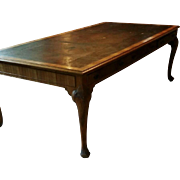Massive Huge Antique Writing Table by Maple & Co