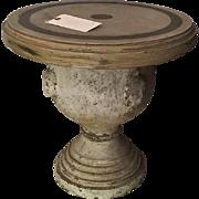 Unusual Antique Italian Urn Now a Designer Table