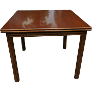 Fine Designer Breakfast Dining Table by McGuire Furniture Company