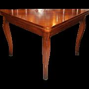 Antique Mahogany Triangle Metamorphic Game Table Movie Star Robert Horton Estate
