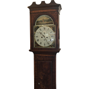 Antique Scottish Grandfather Clock by Findlay of Paisley Scotland