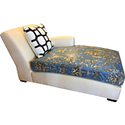 Christian Liaigne for Holly Hunt Nabob Chaise Lounge - Leonard Nemoy Estate