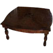 Traditional Imports Coffee Table w Classical Star Inlay