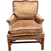 Minton Spidell Chinese Chippendale Bergere Chair