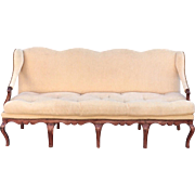 Superb Antique Early 19C Renence Style Settee Sofa