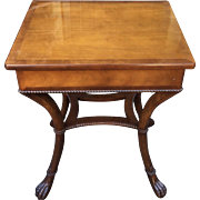 Baker Furniture Company Lamp Table