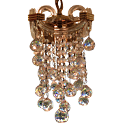 Spectacular Small Austrian Crystal Chandelier