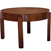 1159 Vintage Art Deco Side Table Executed in Rosewood