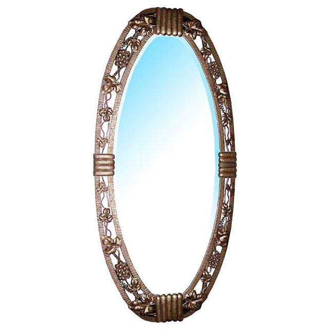 33.122 20th C. Art Deco Wrought Iron Mirror