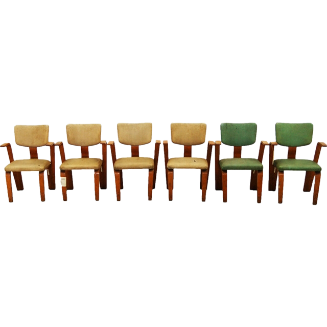 1369 Thonet Bentwood Chairs-set of 6