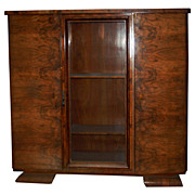1407 A French Art Deco Bookcase or Display Cabinet