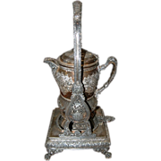 1782 Silver Plate Lemonade Pitcher