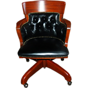 2247 American Mahogany Swivel Chair