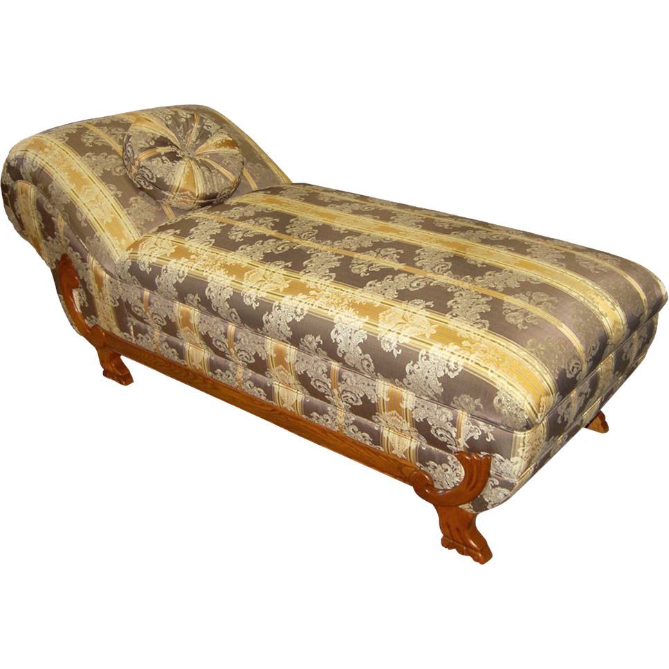 2289 Mid-19th C. Fainting Couch/Recamier