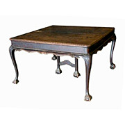 2309 French Country Oak Expanding Dining Table c.1900