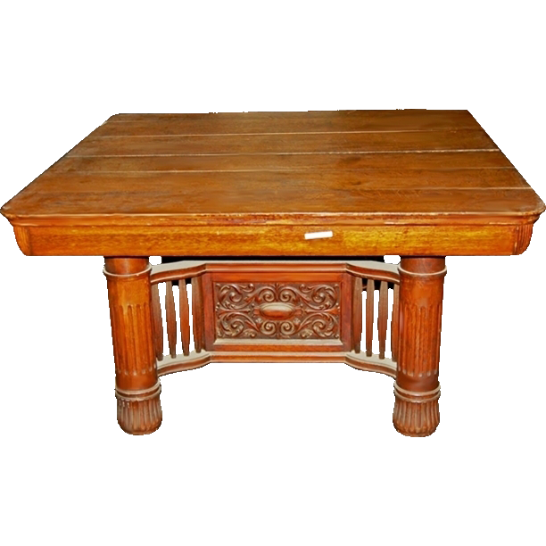 2310 Antique 19th C. Conference Table