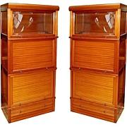 2914 Pair of Matching American Mahogany Cabinets