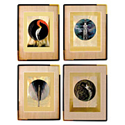 76.295A Erte's Four Emotions (signed)