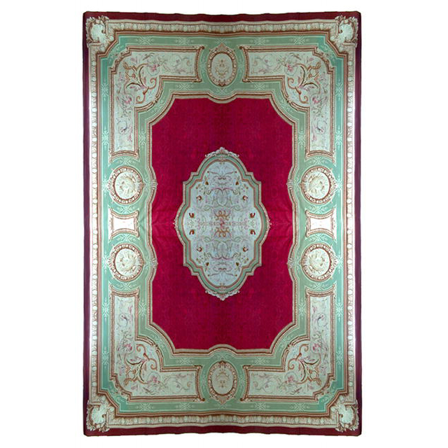 357 French 19th C. Aubusson Palace Rug
