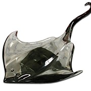 4320 Elegant Glass Manta Ray c. 1920