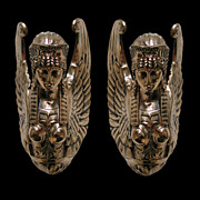 4330 Pair of Neo-Classical Bronze Wall Lights