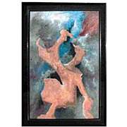4495 Acrylic Framed Original Pastel by Vance Larson