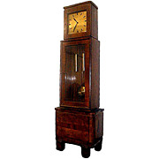 4654 Beautiful Art Deco Tall Case Clock